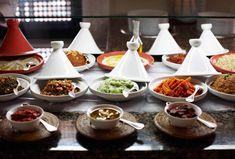 Moroccan Party Buffet Ideas, Photo via La Mamounia