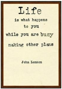 John Lennon Quote Wall Art  buy it if you like it! www.wellappointedhouse.com #JohnLennon #TheBeatles #Beatles