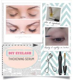 Although we love using falsies, it would be great if we have thick, long lashes. I found a DIY thickening serum to make my eyelashes thick and healthy naturally.