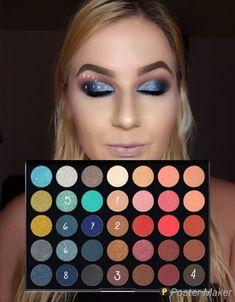 Makeup Look Maker Tattoo - looknumber using morphes palette Makeup Eye Looks, Eyeshadow Looks, Pretty Makeup, Love Makeup, Beauty Makeup, Fall Eyeshadow, Eyeshadow Ideas, Makeup 101, Beauty Tips