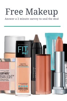 Answer a simple 2 minute survey to grab the deal Free Coupons By Mail, Free Samples By Mail, Free Makeup Samples, Free Cosmetic Samples, Free Stuff By Mail, Get Free Stuff, Free Sample Boxes, Freebies By Mail, Get Free Makeup