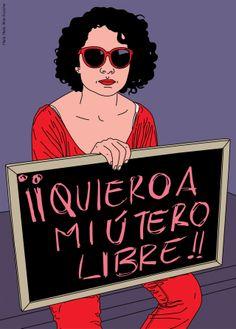 WOMBASTIC: Foto / Quiero a mi útero libre!