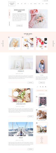 ideas for wedding planning logo design Web Design Trends, Design Websites, Design Blog, Blog Designs, Design Ideas, Website Designs, Website Ideas, Layout Design, Web Layout