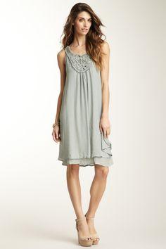 Beaded Trim Dress on HauteLook