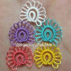 Tatting Earrings, Crochet Earrings, Needle Tatting Tutorial, Shuttle Tatting Patterns, Tatting Lace, Needle Lace, Crochet Flowers, Instagram, Creative
