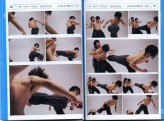 "psdo: "" aquabutt: "" eyecager: "" 瞬間連写アクションポーズ 立ち回り・スタント・アクロバット: Real Action Pose Collection A beautiful reference book. I bought mine from Kinokinuya when I was living in California. "" I WANT THIS. I..."