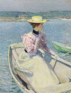 Childe Hassam (1859–1935), White Dory, Gloucester