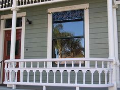 porch railing Porch And Terrace, Porch Swing, Front Porch, Porch Ideas, Patio Ideas, House Remodeling, Better Homes And Gardens, Architecture Details, Porches