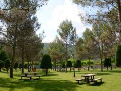 Área recretativa de Villaboya es un lugar ideal para disfrutar al aire libre. Dispone de asadores, zona de picnic, parque infantil, pistas de tenis...