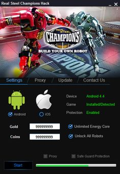 Real Steel Champions Hack