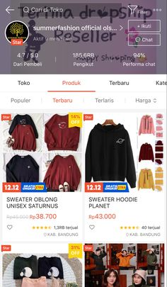 Best Online Clothing Stores, Online Shopping Sites, Online Shopping Clothes, Hijab Fashion, Korean Fashion, Gaun Dress, Online Shop Baju, Diy Clothes And Shoes, Casual Hijab Outfit