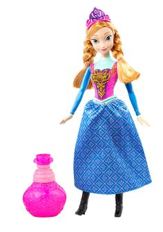 Disney Frozen Royal Colour Anna Doll available online at http://www.babycity.co.uk/