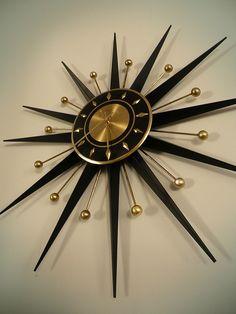 Sunburst Clock!