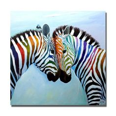 Zebra Snuggle - Oil on Canvas Zebra Painting, Zebra Art, Oil Painting On Canvas, Canvas Wall Art, Animal Paintings, Animal Drawings, Zebra Clipart, Zebra Kunst, Tableau Pop Art