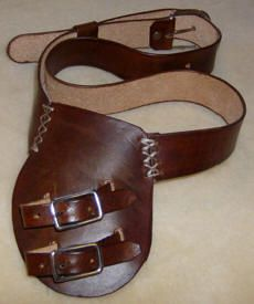 Child's Two Buckle Baldric. Available at Medieval Fantasies Company.