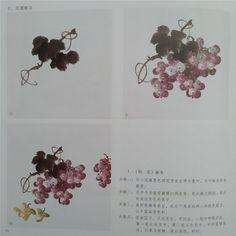 виноград3 Chinese Brush, Chinese Art, Ink Painting, Watercolor Art, Chinese Painting, Brush Strokes, Japanese Art, Art Tutorials, Grape Vines