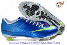 online store 1e2ea 3d7a6 Nike Mercurial Vapor IX FG Cristiano Ronaldo Bleu FT9278 All Nike Shoes,  Soccer Shoes,