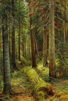 Iwan I. Schischkin: Im russischen Wald, 1896, Kunsthalle Kiel