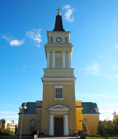 Oulu, Finland Helsinki, Scandinavian Countries, Cathedrals, Country, Places, Happy, Blog, Travel, Finland