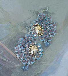 Celeste earrings bold lightweight romantic bohemian earrings