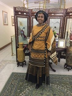 Xhosa Attire, African Attire, African Fashion Traditional, Traditional Outfits, African Dresses For Women, African Fashion Dresses, Emo Dresses, Party Dresses, Shweshwe Dresses