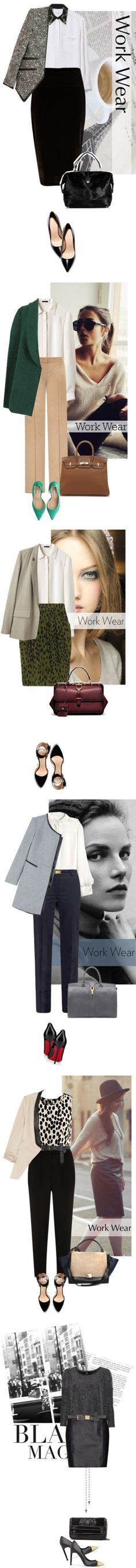"""""""Chic Winter Workwear Fixes"""" by polyvore-editorial ❤ liked on Polyvore"""