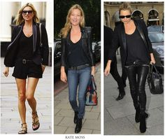 ....why Kate Moss is so perennially popular with women of all ages: she never looks uncomfortable and her styles always look accessible. ......expensive clothes, her style looks eminently not just copiable, but also comfortable. ..........were immediately copied by millions. How many people have you seen dressing like Carine Roitfeld, no matter how many times fashion magazines tell you she's an uber fashion icon? Exactly.GUARDIAN