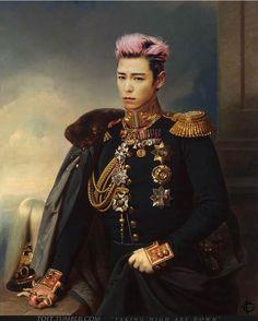 """Longing For Home"" by Franz Kruger, a beautiful portrait of Choi Seunghyun during his military service. Vip Bigbang, Daesung, Big Bang Kpop, Bang Bang, Dragons Tumblr, G Dragon Top, Top Choi Seung Hyun, Pop Idol, Fantastic Baby"