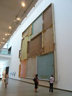 SEAN CORDEIRO, 'NOT UNDER MY ROOF', 2008, FOUND FLOORING FROM FARM HOUSE (WOOD, LINOLEUM, CARPET)