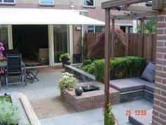 Ontwerp kleine tuin patio in garden small