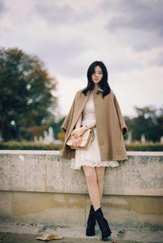 Asian Fashion, Girl Fashion, Womens Fashion, Girl Outfits, Cute Outfits, Fashion Outfits, Yoon Sun Young, Asian Style, Korean Style
