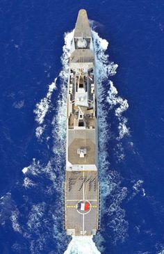 French Marine Nationale Frégate Légère Furtive - Light Stealth Frigate (FLF) Surcouf. Photo Marine Nationale 14/08/2015