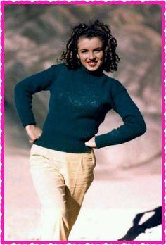 Young Marilyn Monroe #cinema