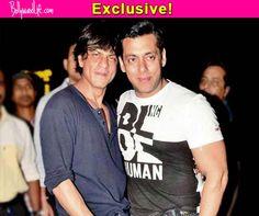 Shah Rukh Khan and Salman Khan spotted at YRF office together!  #ShahRukhKhan   #SalmanKhan