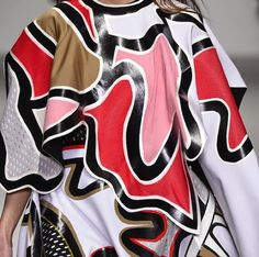 patternprints journal: PRINTS, PATTERNS, TEXTURES AND TEXTILE SURFACES FROM LONDON FASHION WEEK (WOMENSWEAR F/W 2015-16) / Central Saint Martins.
