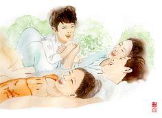 drawing_가족
