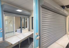 RSG5700 1HR Fire Rated Roller Shutter fitted to Paxton Primary School in South London.
