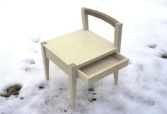 chair with a drawer