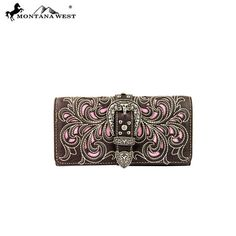 Montana West Buckle Collection Wallet (MW198-W002)