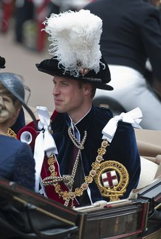 Prince William - The Order of the Garter Service in Windsor