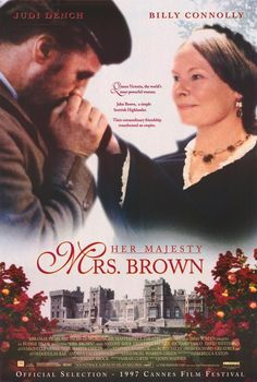 A film about Queen Victoria and her close relationship with her Scottish servant/confidant, John Brown.