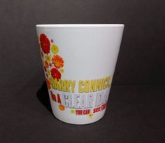 Collectible mug for the Harry Connick Jr fan from his Broadway show in 2011 On A Clear Day You Can See Forever!