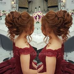 Wedding hair updo how to Mooi opgestoken kapsel, teruggeslagen bruidskapsel. Quince Hairstyles, Indian Wedding Hairstyles, Formal Hairstyles, Bride Hairstyles, Long Bridal Hair, Wedding Hair And Makeup, Pagent Hair, Prom Hair, Quinceanera Hairstyles