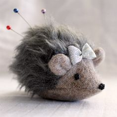 Make this cute little pincushion to stick your pins in.
