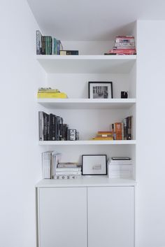 Contemporary built-in alcove unit from Milkwood