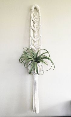 Your place to buy and sell all things handmade Macrame Hanging Planter Macrame Plant Hanger Macrame Plant Hanger Patterns, Macrame Plant Hangers, Macrame Patterns, Macrame Hanging Planter, Macrame Plant Holder, Hanging Planters, Wall Plant Hanger, Macrame Owl, Deco Boheme