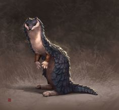 ArtStation - Pangol , Tammy Chang