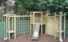 Bespoke Wooden Log Cabin Climing Frames - UK Nationwide Delivery And Instillation Of Climbing Frames For Children