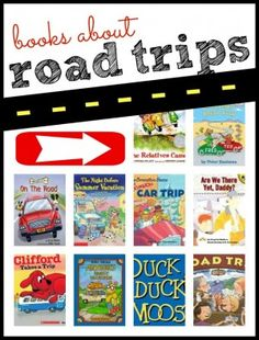 Books about Road Trips - fun list for a car trip!