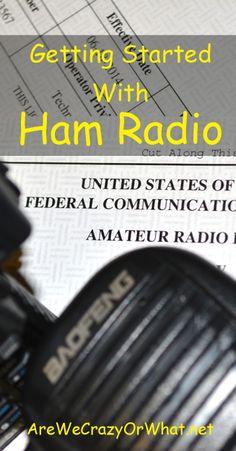 The basics of taking your Ham radio exam and buying your first radio. #beselfreliant